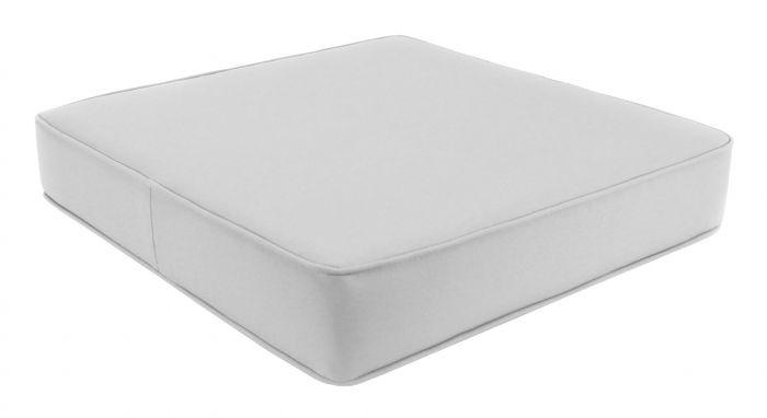 Patio Chair Cushions Deep Seat, White Outdoor Furniture Cushions