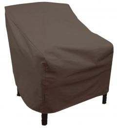 High Back Patio Chair Cover - Brown