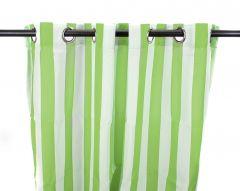 "54"" x 84"" Kiwi Stripe Curtain Panel"