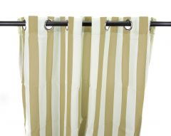 "54"" x 84"" Linen Stripe Curtain Panel"