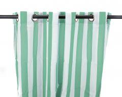 "54"" x 84"" Spa Stripe Curtain Panel"