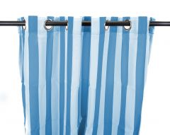 "54"" x 84"" Caribbean Stripe Curtain Panel"