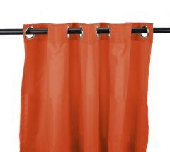 "54"" x 84"" Tangerine Curtain Panel"