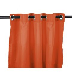 "54"" x 96"" Tangerine Curtain Panel"