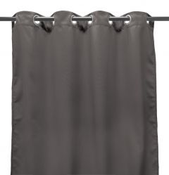 "54"" x 96"" Gray Curtain Panel"