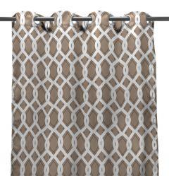 "54"" x 96"" Cayo Linen Curtain Panel"