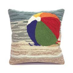 Liora Manne Frontporch Life's A Beach Sand Indoor/Outdoor Pillow