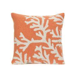 Liora Manne Frontporch Coral Indoor/Outdoor PillowCoral