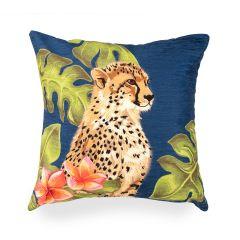 Liora Manne Illusions Cheetahs Indoor/Outdoor Pillow Jungle