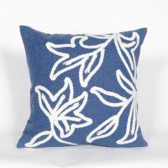 Liora Manne Visions I Windsor Indoor/Outdoor Pillow Blue