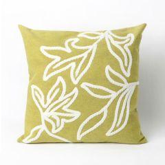 Liora Manne Visions I Windsor Indoor/Outdoor Pillow Lime