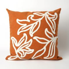 Liora Manne Visions I Windsor Indoor/Outdoor Pillow Orange