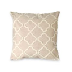Liora Manne Visions I Crochet Tile Indoor/Outdoor Pillow White
