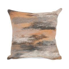 Liora Manne Visions I Vista Indoor/ Outdoor Pillow Taupe