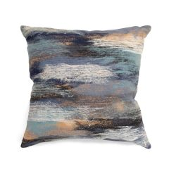 Liora Manne Visions I Vista Indoor/ Outdoor Pillow Denim