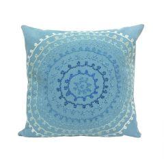 Liora Manne Visions II Ombre Threads Indoor/Outdoor Pillow Aqua