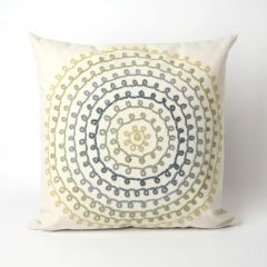 Liora Manne Visions II Ombre Threads Indoor/Outdoor Pillow Cool