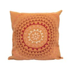 Liora Manne Visions II Ombre Threads Indoor/Outdoor Pillow Coral