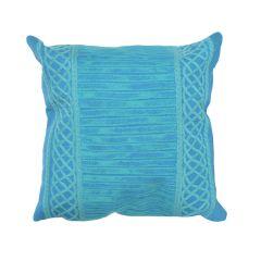 Liora Manne Visions II Celtic Stripe Indoor/ Outdoor Pillow Emerald