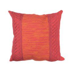 Liora Manne Visions II Celtic Stripe Indoor/ Outdoor Pillow Saffron