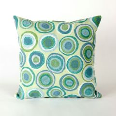 Liora Manne Visions II Puddle Dot Indoor/ Outdoor Pillow Spa