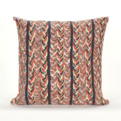 Liora Manne Visions III Braided Stripe Indoor/ Outdoor Pillow Earth
