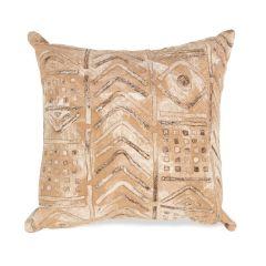 Liora Manne Visions III Bambara Indoor/ Outdoor Pillow Biscotti