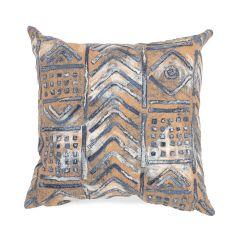 Liora Manne Visions III Bambara Indoor/ Outdoor Pillow Indigo