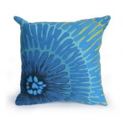 Liora Manne Visions III Cirque Indoor/ Outdoor Pillow Caribe