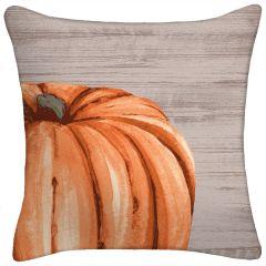 Harvest Pumpkin Throw Pillow