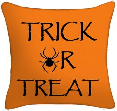 Spider Trick of Treat Pillow