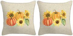 Set of Two - Harvest Throw Pillows