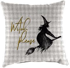 Witch Please Throw Pillow