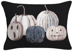 Pumpkin Lumbar Throw Pillow