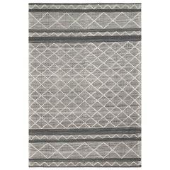 Liora Manne Artista Diamond Stripe Indoor/ Outdoor Rug Grey