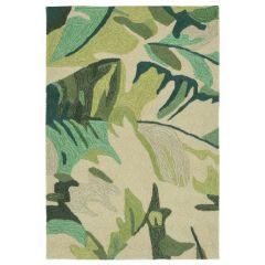 Liora Manne Capri Palm Leaf Indoor/Outdoor Rug Green