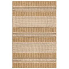 Liora Manne Carmel Stripe Indoor/ Outdoor Rug Sand