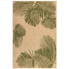 Liora Manne Carmel Palm Indoor/ Outdoor Rug Green