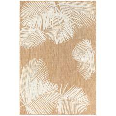 Liora Manne Carmel Palm Indoor/ Outdoor Rug Sand