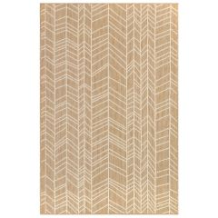 Liora Manne Carmel Chevron Indoor/ Outdoor Rug Sand
