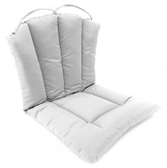 Barrel Back Hinged Chair Cushion