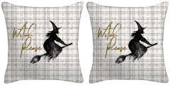 Set of Two - Witch Please Throw Pillows