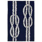 Liora Manne Capri Ropes Indoor/Outdoor Rug Navy