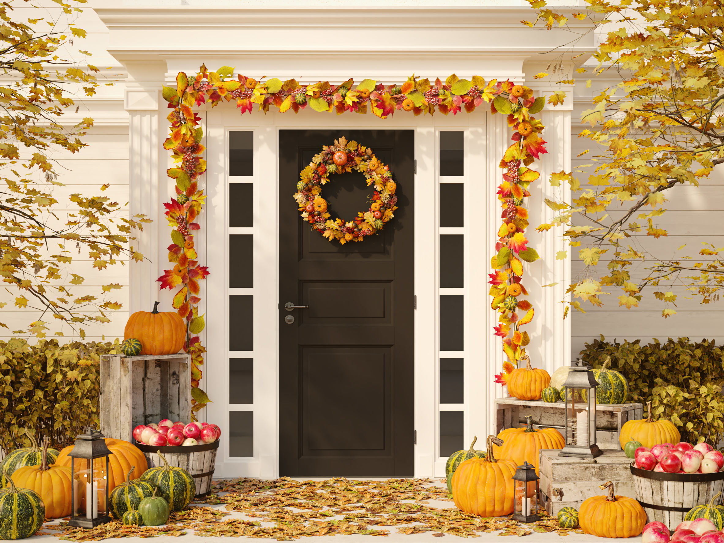4 Fall Patio Decorating Ideas