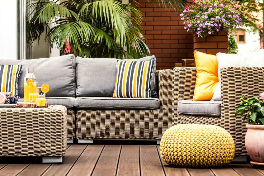 Which cushions are best for outdoor furniture?