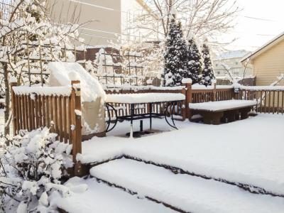 How to Weatherproof Your Patio for Winter