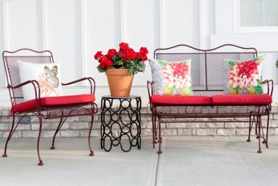 How to Clean Your Patio Cushions