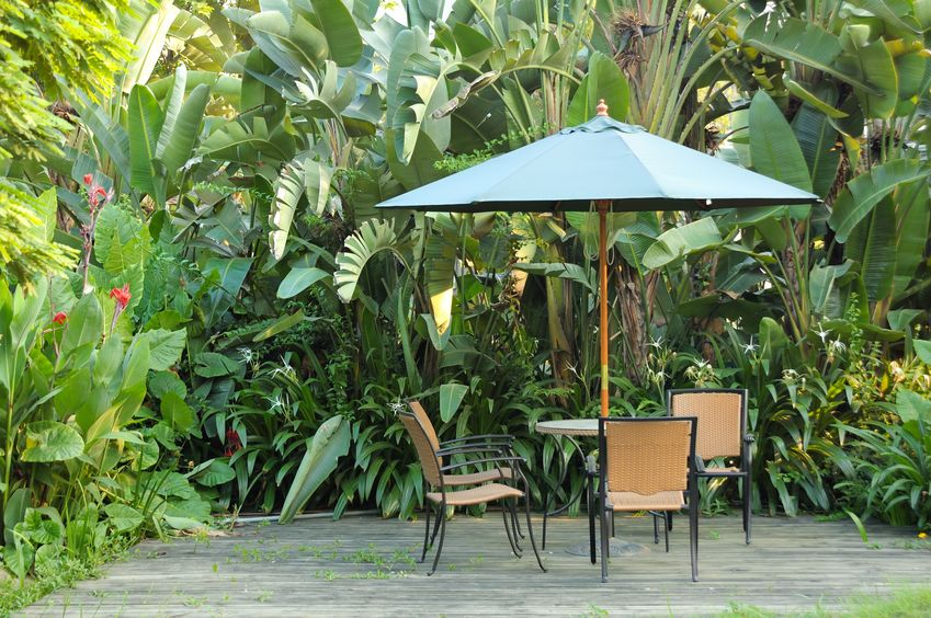 "The benefits of outdoor shading can help you say ""yes!"" to ""Should I get a patio umbrella?"""