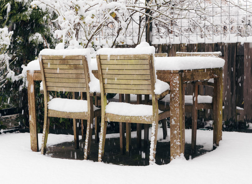 Get helpful tips and learn how to weatherproof your patio for winter.